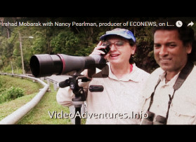 Irshad Mobarak with Nancy Pearlman, producer of ECONEWS