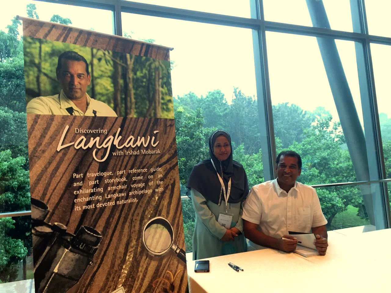 Discovering Langkawi with Irshad Mobarak: Launch!